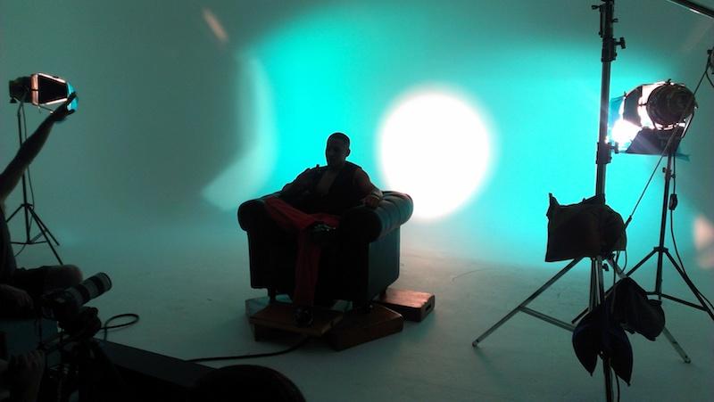 Four Corner Cyclorama Studio In Miami Green White Cyc Wall